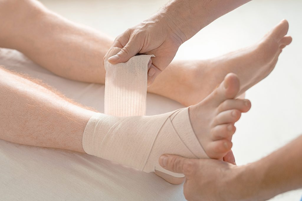 Ankle Sprain and Strain Treatment   South Florida Podiatry Center